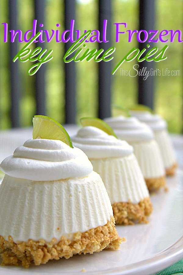 Frozen Key Lime Pies - This Silly Girl's Kitchen