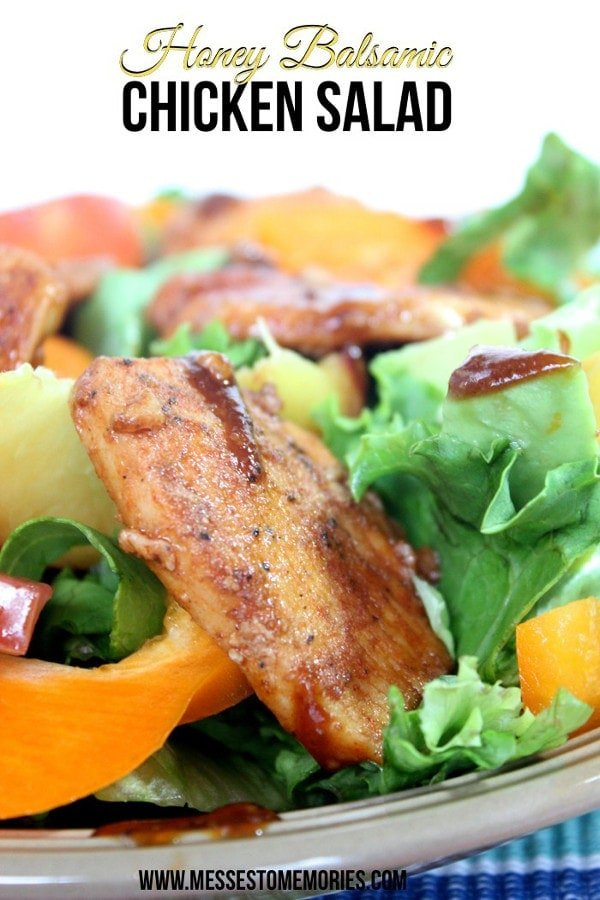 Chicken Salad with Honey