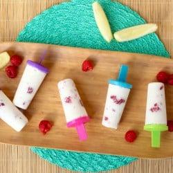 Raspberry Lemonade Popsicles - A refreshing treat!