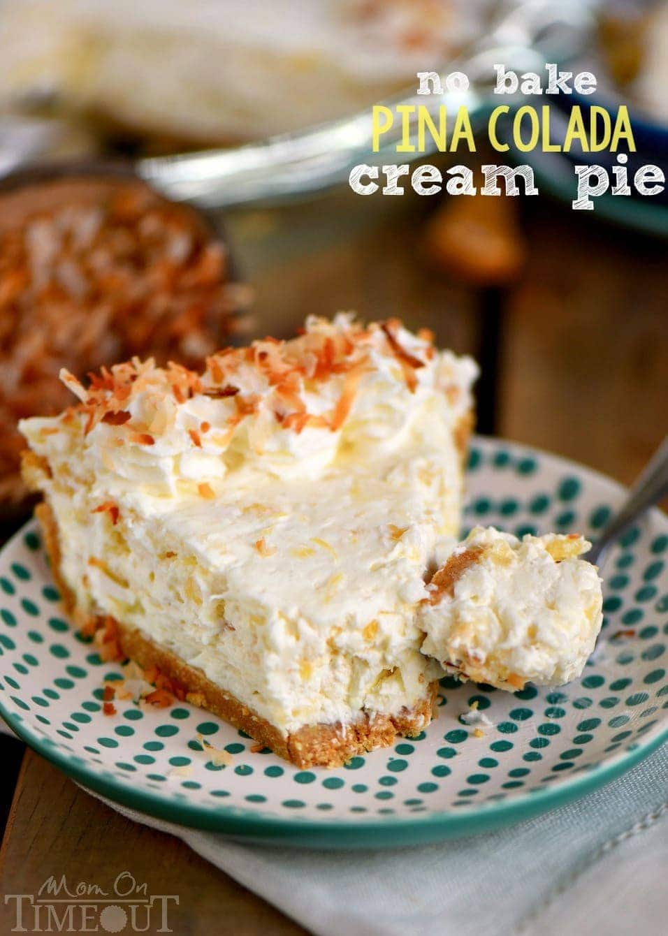 no-bake-pina-colada-cream-pie-Mom on Time Out