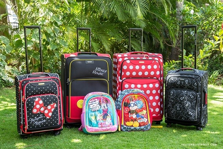 American Touristor Disney Luggage