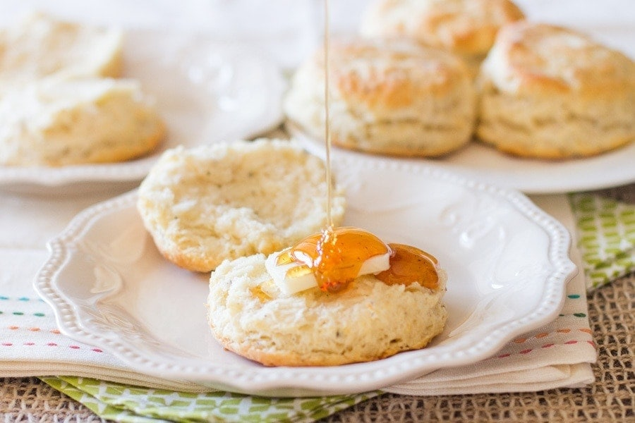 Black Pepper Biscuits. Freshly ground black pepper makes all the difference in these sky-high biscuits. Make some today!