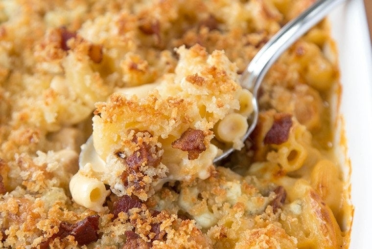 Chicken, Bacon and Blue Macaroni and Cheese