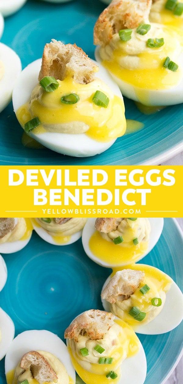 Deviled Eggs Benedict