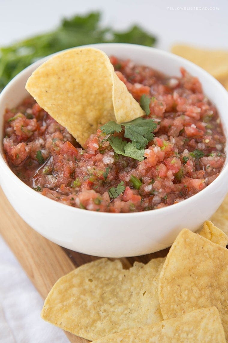 Easy Fresh Salsa 6