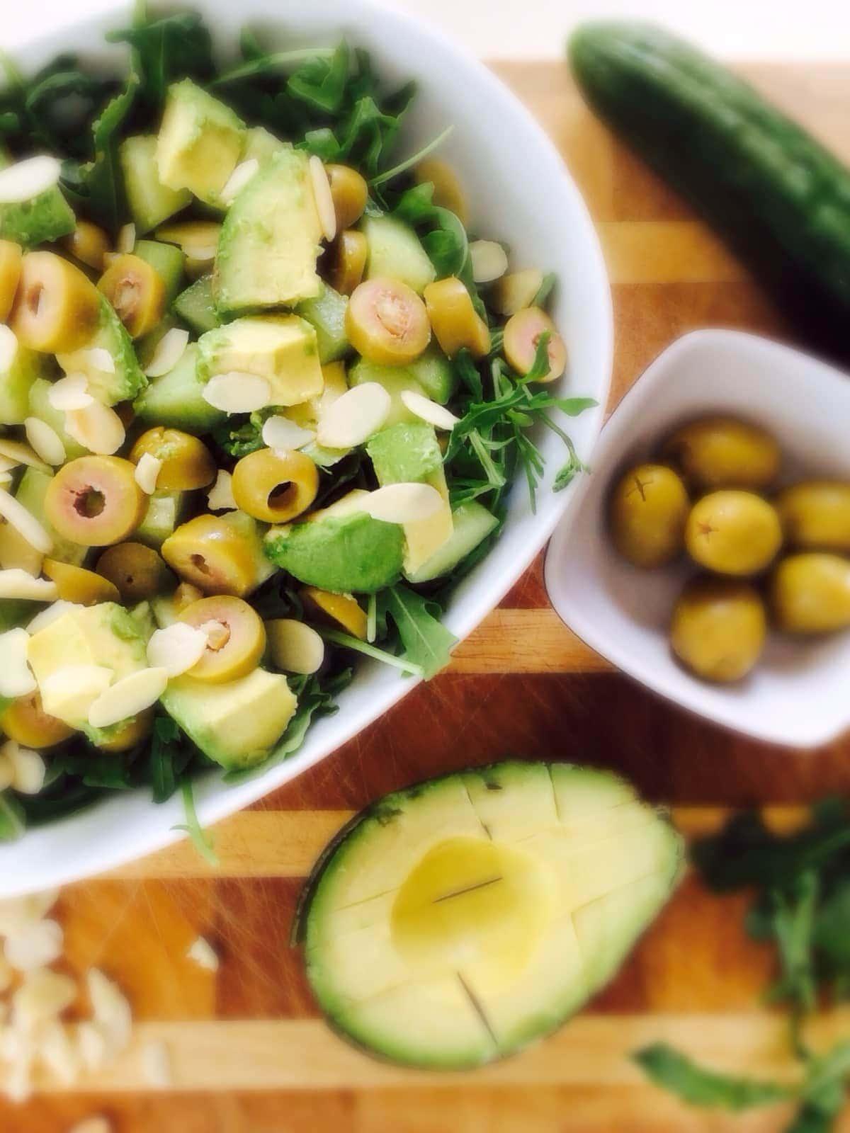 Green Summer Salad - The Girl Creative