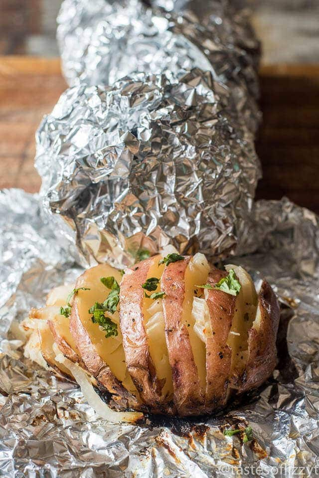 Grilled-Baked-Potatoes-with-onions-tastes of lizzy t