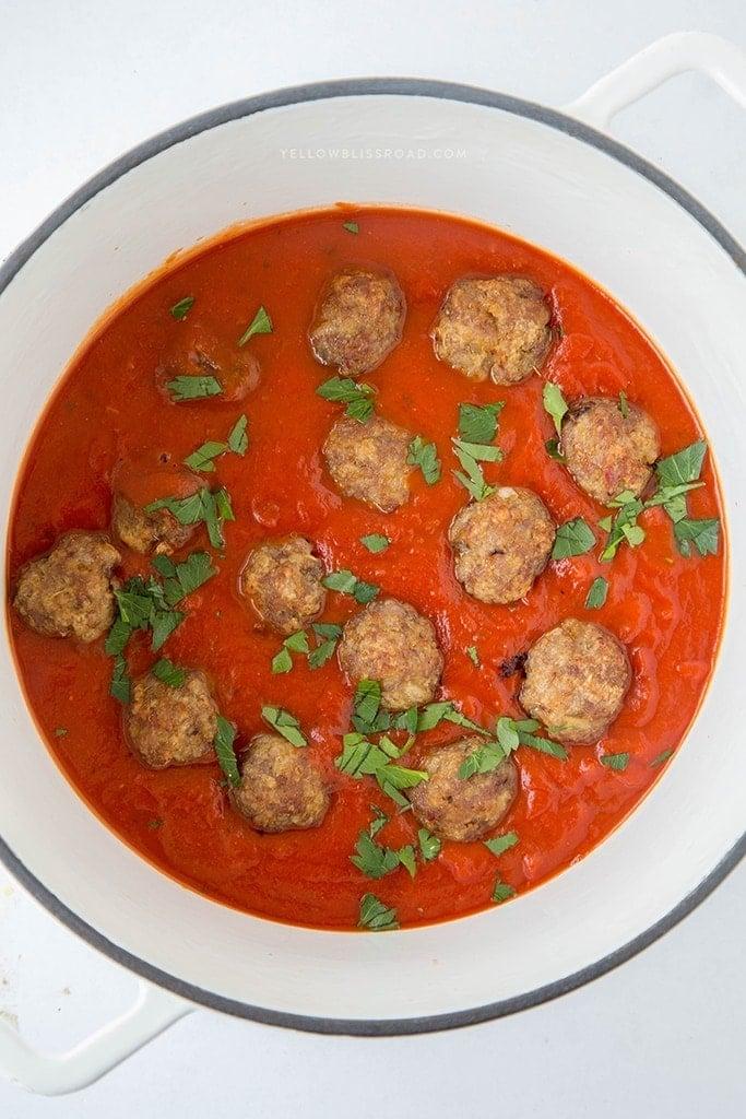 Italian Sausage Meatballs 4