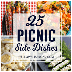 A tasty collection of side dishes that you can bring to your next picnic.