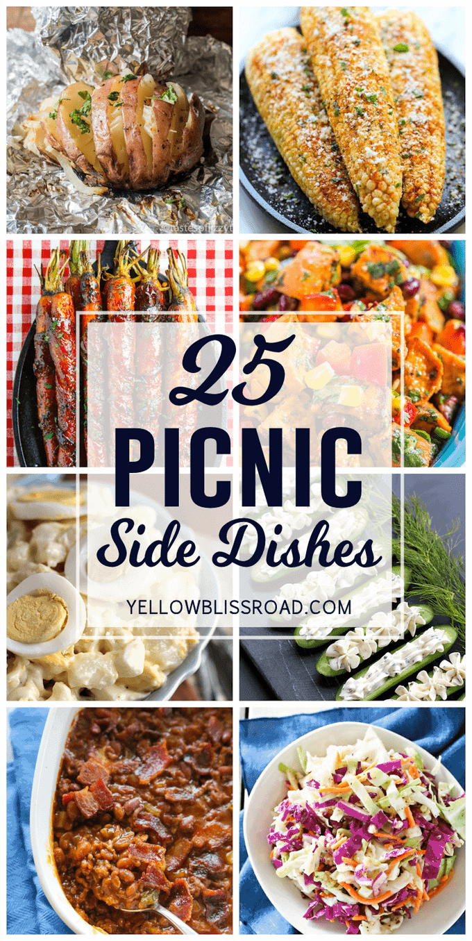 25 Picnic Side Dishes Yellowblissroad Com