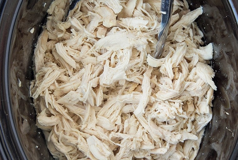 Easy Slow Cooker Shredded Chicken – Easy Meal Prep