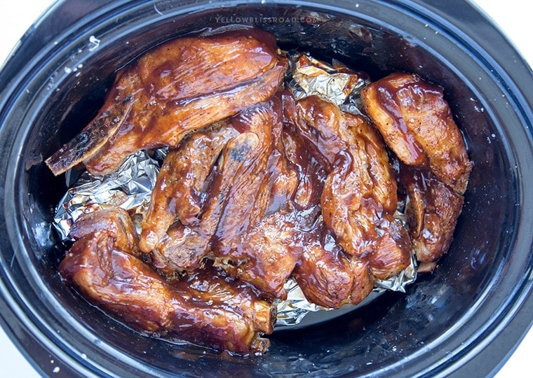 Slow Cooker Country Style Barbecue Ribs are tender, juicy and so full of flavor. Cooking them in the slow cooker ensures that you can have these fall-off-the-bone barbecue ribs any time of the year!