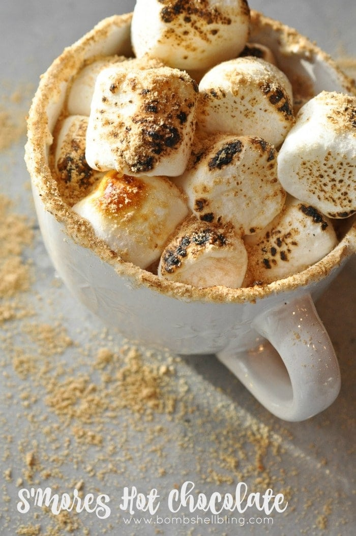 S'mores Hot Chocolate Recipe
