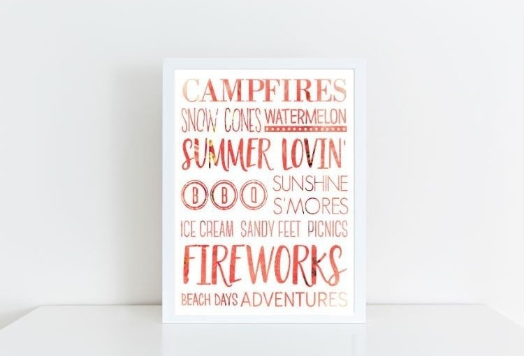 Summer Loving Printable