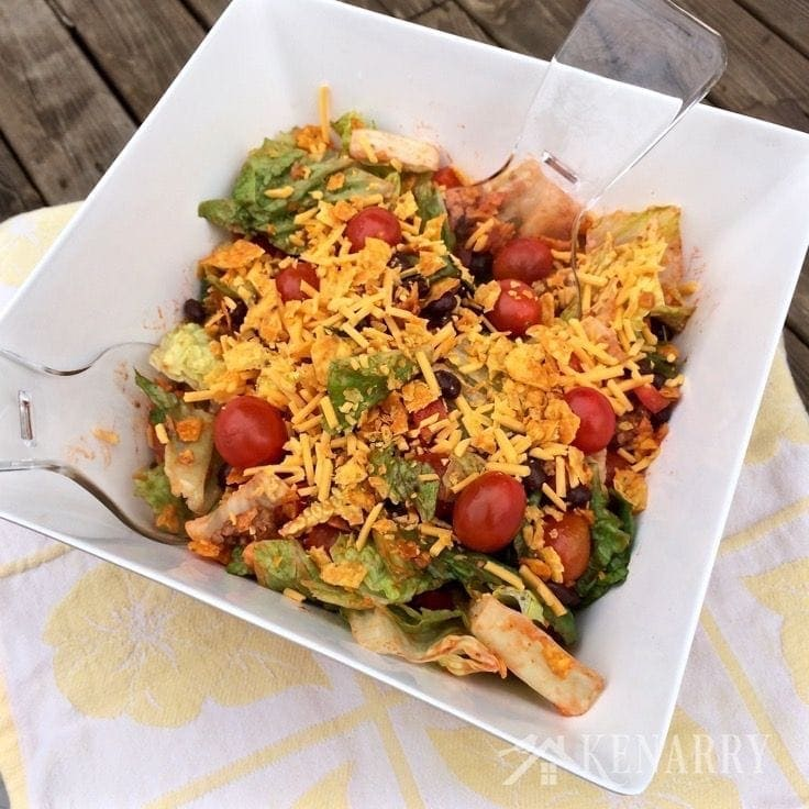 classic-taco-salad-recipe-belle of the kitchen