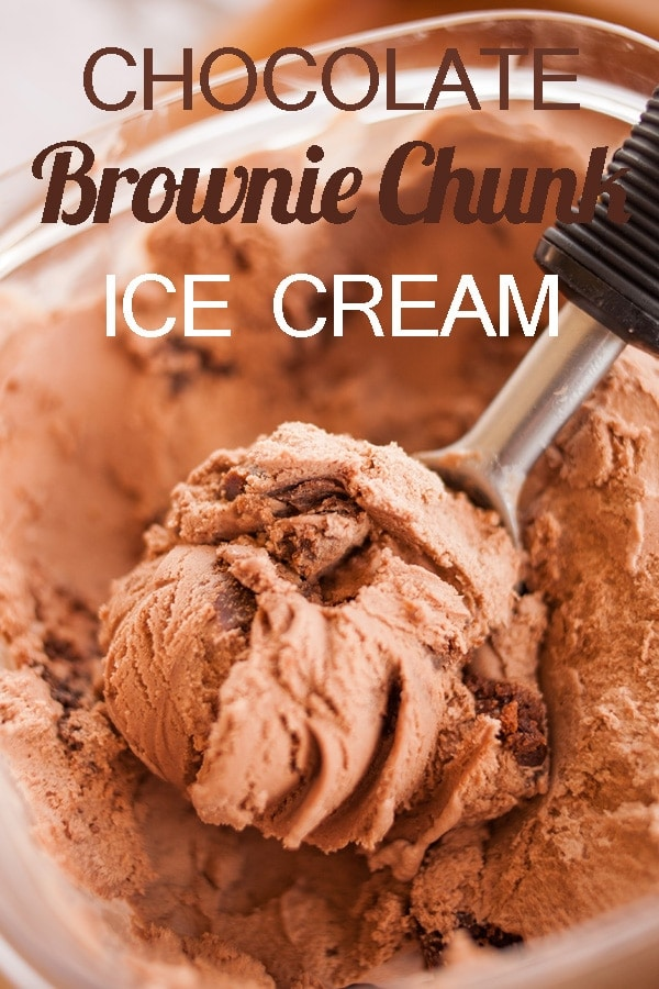 Chocolate Brownie Chunk Ice Cream by Ice Cream Inspiration 2