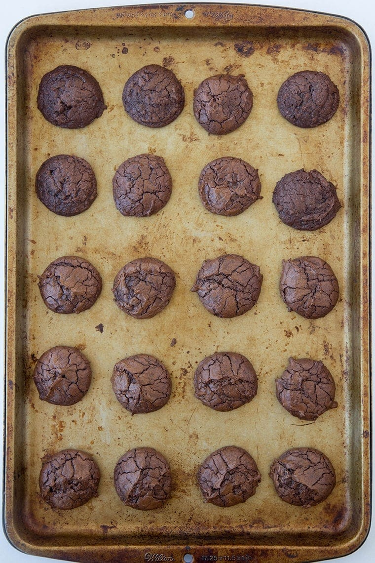 Dark Chocolate Brownie Cookies 1