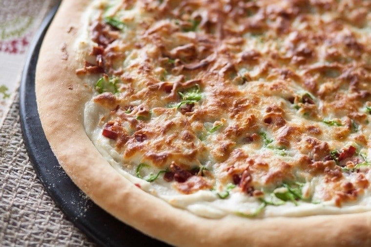 Jalapeno Popper Pizza. The pizza with the most rave reviews at any party!