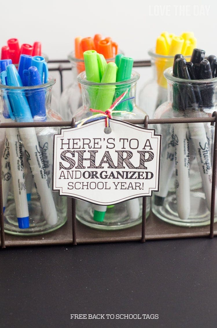 back to school teacher gift-love the day