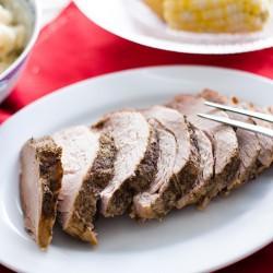 Easy Slow Cooker Pork Roast