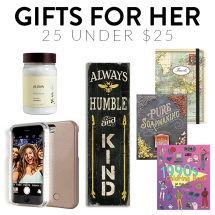 Gift Ideas for Her to Fit Every Budget (NEW for 2016!)