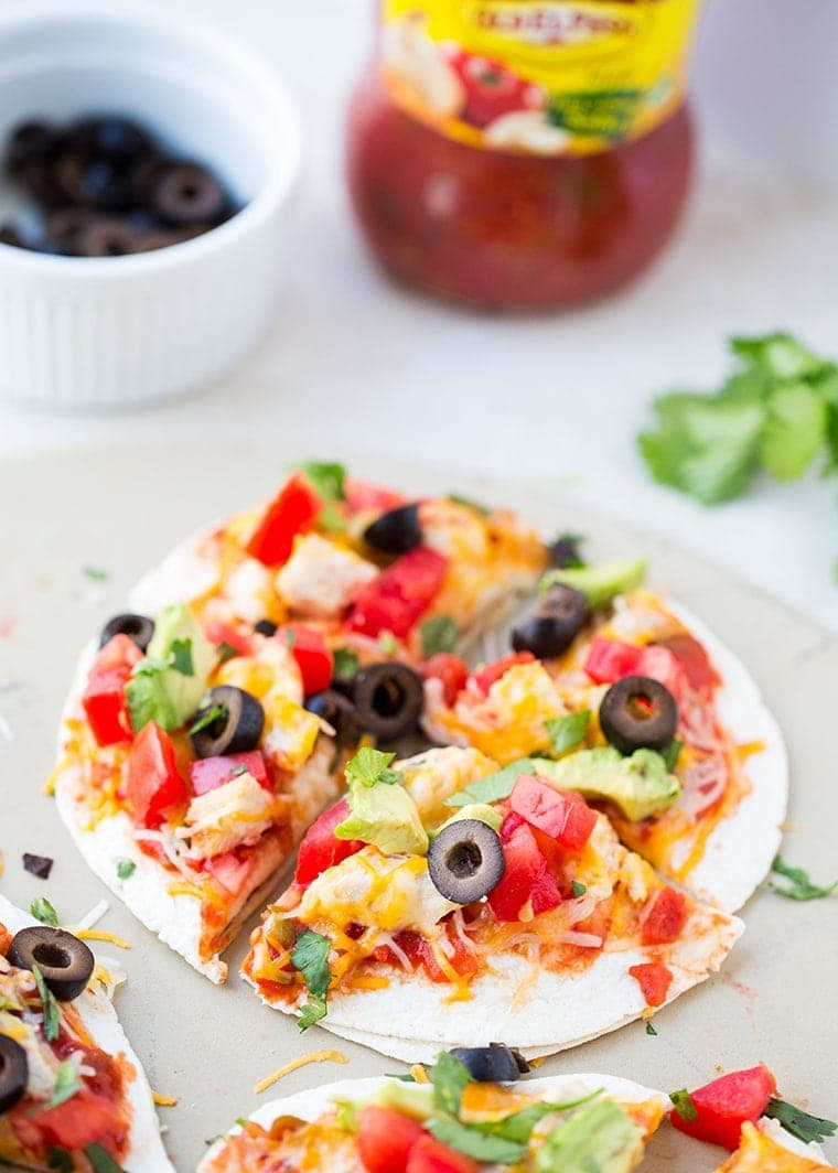 Mexican Pizza - Part of 36 meals to make your weeknight dinners quick and easy!