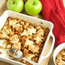 Sweet Potato and Apple Cobbler