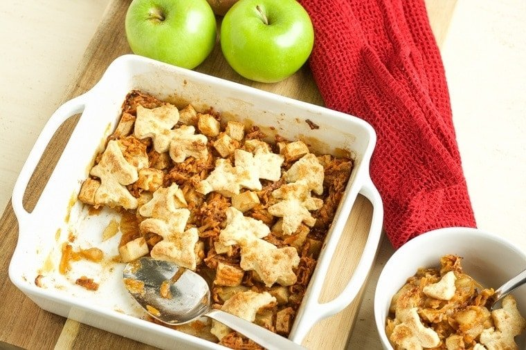 Sweet Potato and Apple Cobbler