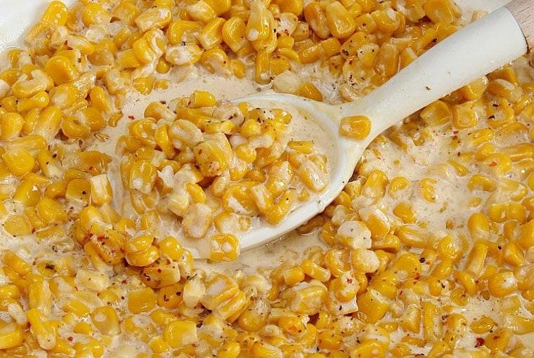 Slow Cooker Creamy Corn
