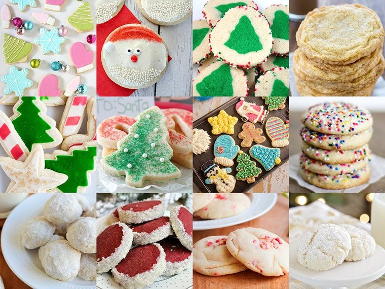 50 of the best christmas cookie recipes sugar cookies - Best Christmas Cookies Recipes