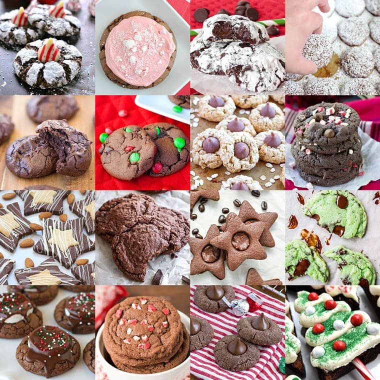 50 of the best christmas cookie recipes chocolate cookie recipes