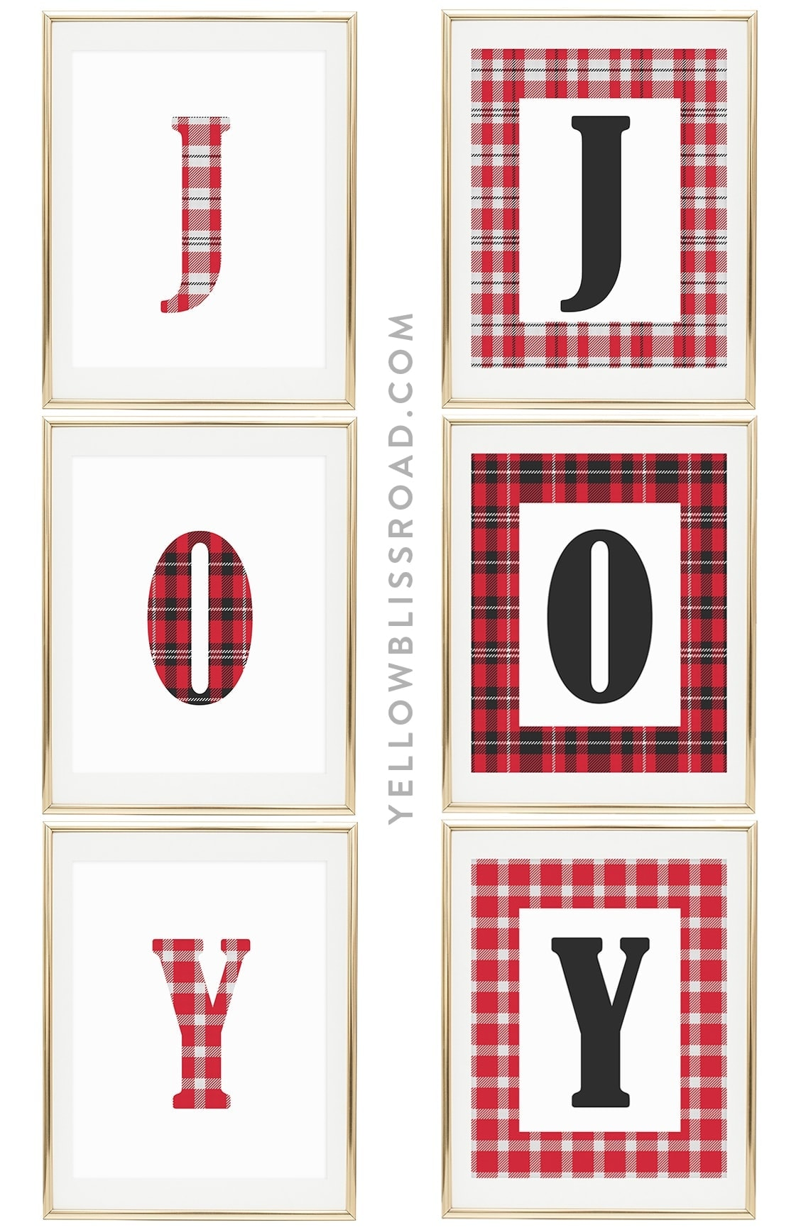 Spread Christmas JOY! with these Free Christmas Printables | Christmas decorating
