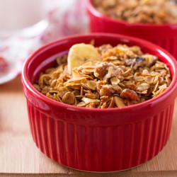 Banana Crunch Granola