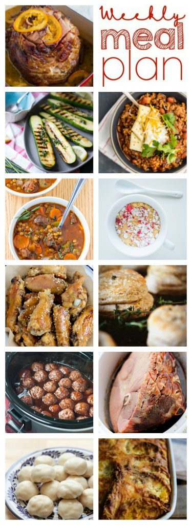 Weekly Meal Plan Week 46 – 11 great bloggers bringing you a full week of recipes including dinner, sides dishes, and desserts!