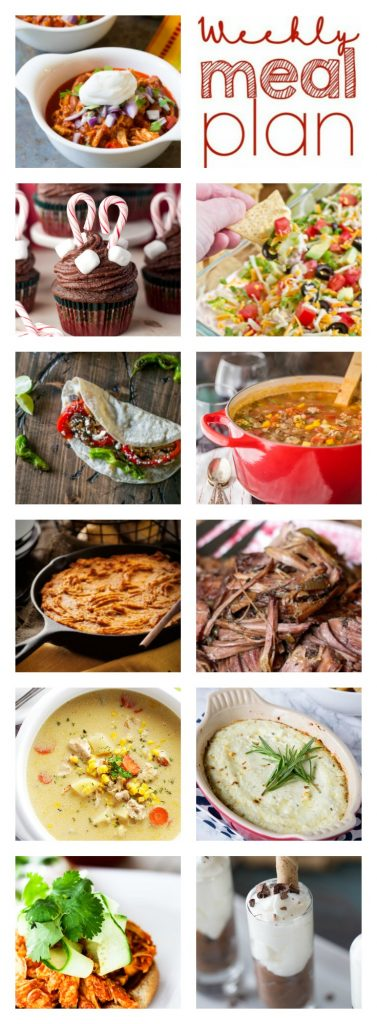 Weekly Meal Plan Week 47 – 11 great bloggers bringing you a full week of recipes including dinner, sides dishes, and desserts!
