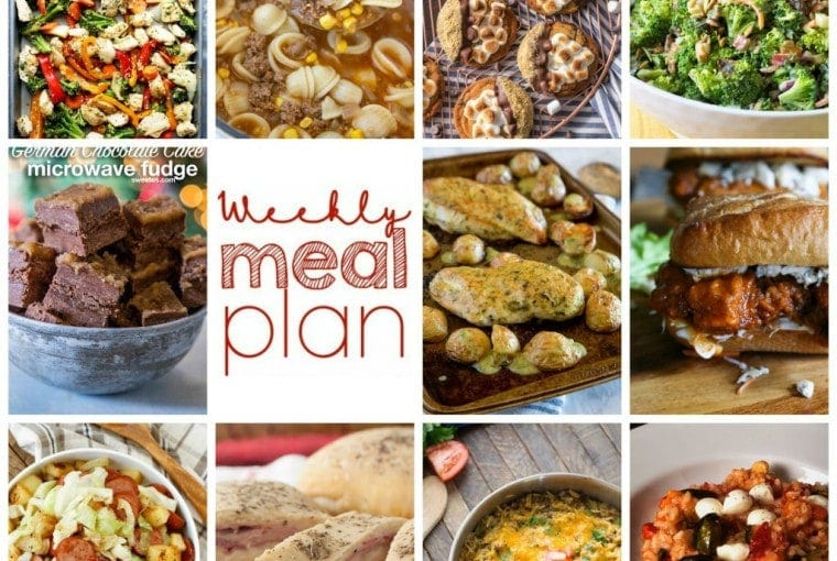 Weekly Meal Plan Week #48