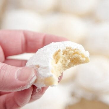A half eaten Cheesecake Cookie