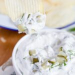 This Dill Pickle Dip has got everything you need to make this a totally crave-worthy appetizer!