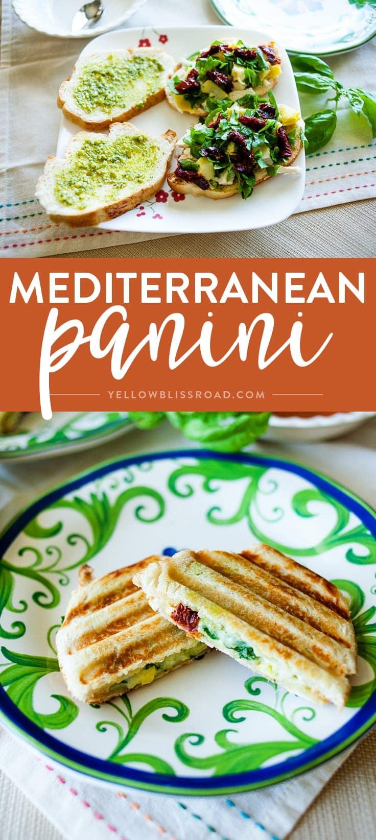 Social media image of Mediterranean Panini
