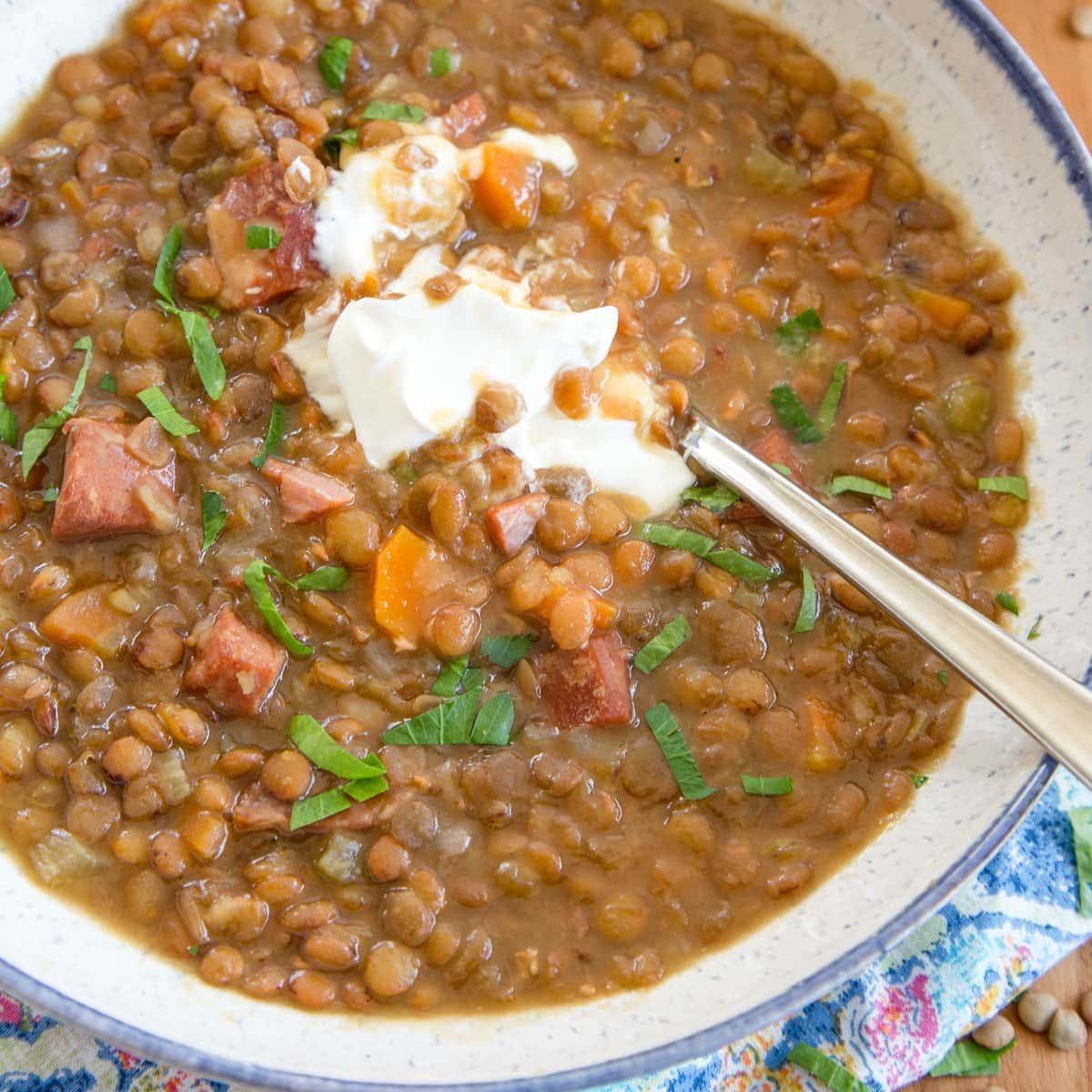 recipe: pressure cooker lentil curry [13]