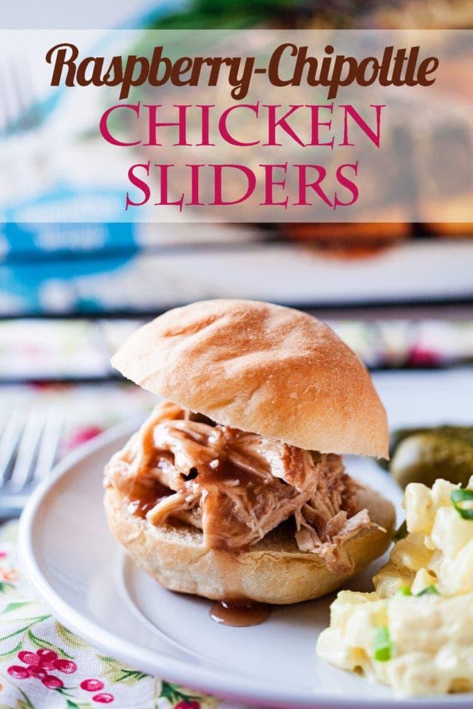 Social media image of Raspberry Chipotle Chicken Sliders