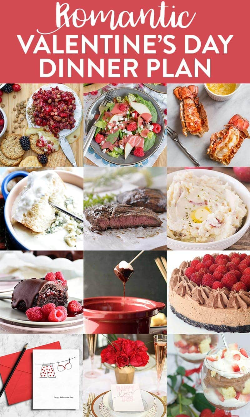 A collage of different meal ideas