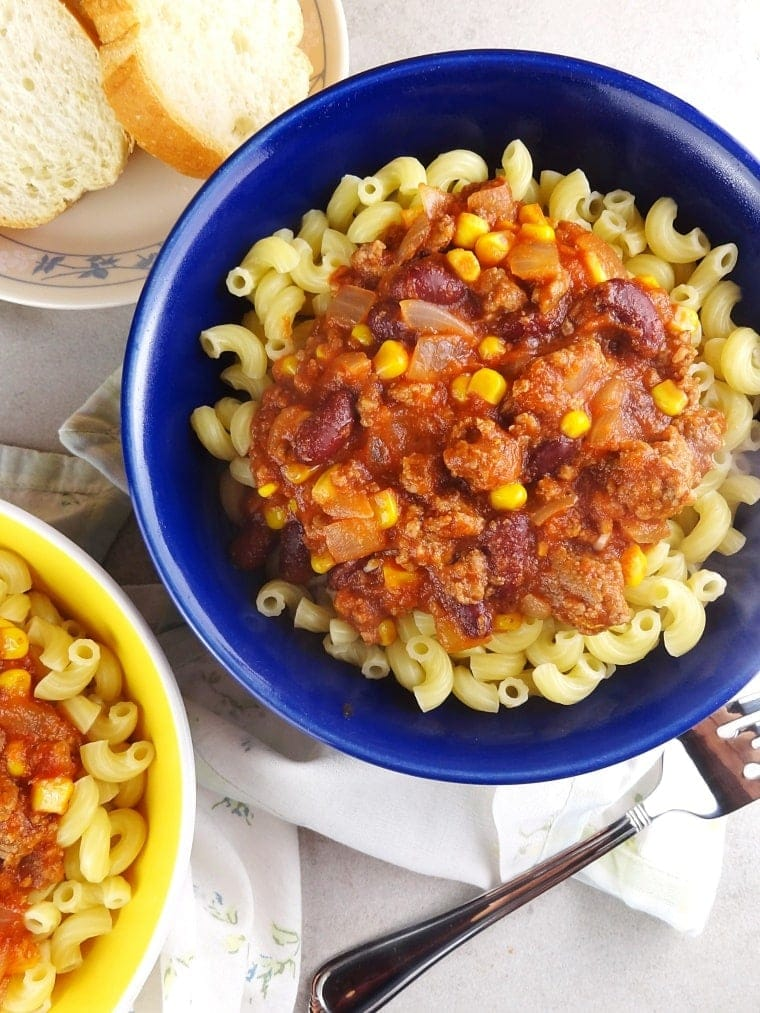 Easy Goulash With Corn Kidney Beans