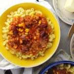 Easy Goulash with Corn is a simple pasta recipe that your whole family will love!