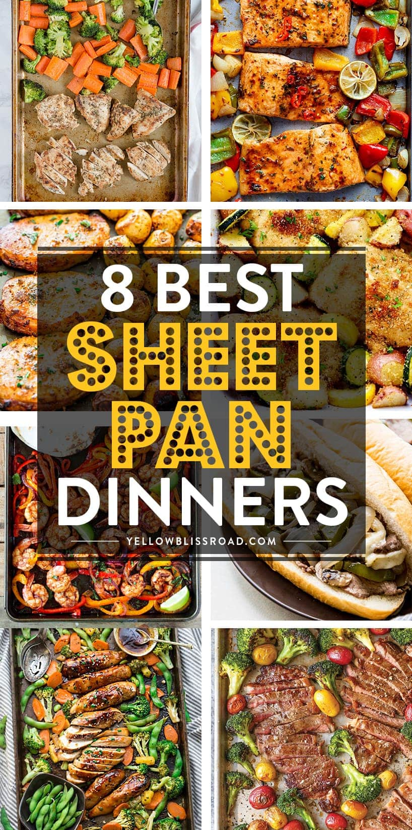 8 Delicious and Healthy Easy Sheet Pan Dinners