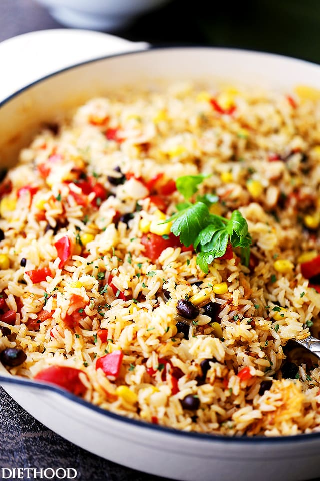 A dish of Rice