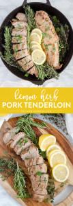 Social media image for Lemon Herb Pork Tenderloin