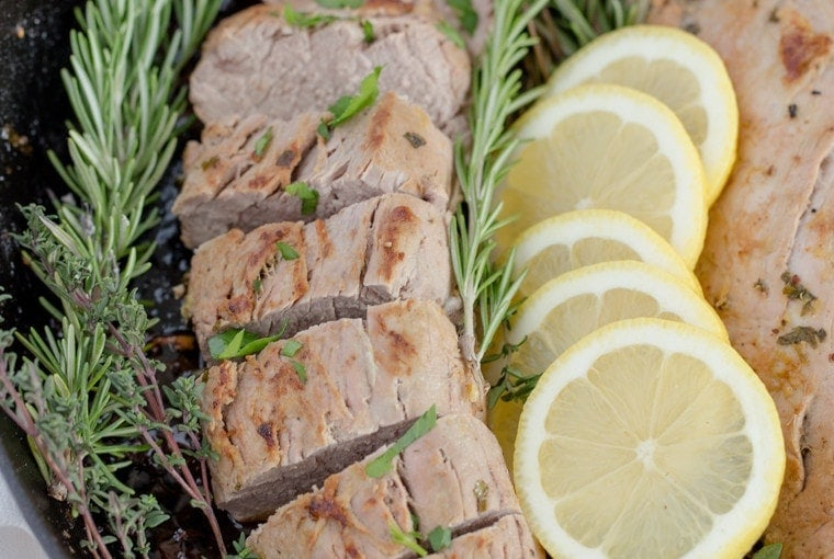 Lemon Herb Pork Tenderloin