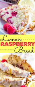 Lemon Raspberry Bread