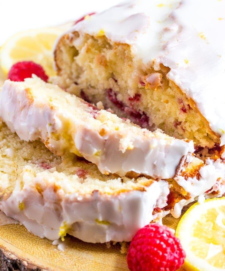 Lemon Raspberry Bread - a delicious quick bread perfect for breakfast or snack.